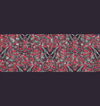 seamless pattern from various colored vector image vector image