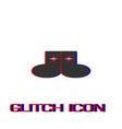 socks icon flat vector image