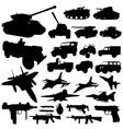 war machine vector image vector image