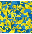 Colorful Mosaic Background Polygonal vector image vector image