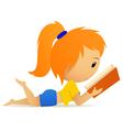 lolita book vector image vector image