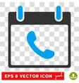 Phone Calendar Day Eps Icon vector image vector image