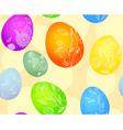 eggs pattern vector image