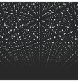 Abstract background Matrix of glowing vector image vector image