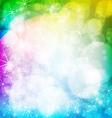 abstract shining stars vector image vector image
