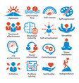 business management icons pack 06 vector image vector image