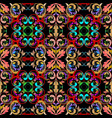 ethnic style vintage damask seamless pattern vector image vector image