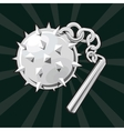 Flail icon vector image vector image