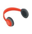 Headphones icon cartoon style