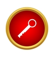 Key Icon simple style vector image
