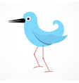 Paper Bird vector image