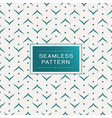 seamless pattern with simple line and shape vector image vector image