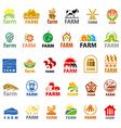 large set of logos farm