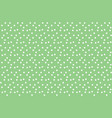 green vintage polka background seamless pattern vector image