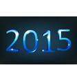 Happy new year 2015 vector image