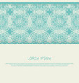 mandala pattern background oriental asian vector image