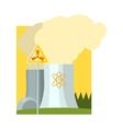 Alternative Energy Nuclear Power vector image vector image