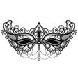 carnival mask venetian carnival vector image vector image