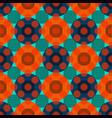 circles geometric seamless pattern vector image vector image