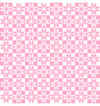 pink geometric pattern seamless vector image vector image