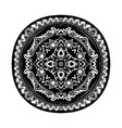 round decorative ornament element mandala vector image vector image