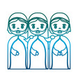 three wise men icon vector image