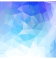 Abstract geometrical background with blue vector image vector image