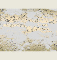 abstract trendy marble gold chic pastel pattern vector image vector image
