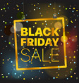 black friday sale concept black friday sale vector image vector image