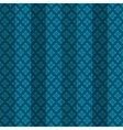 Blue oriental striped seamless pattern vector image