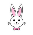 cute rabbit icon vector image
