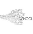educate word cloud concept vector image vector image