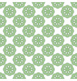 seamless abstract vintage light green pattern vector image vector image