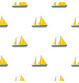 ship pattern seamless vector image vector image