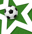 soccer football poster grass background with white