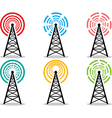 Cell tower pack vector image