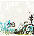 6floral line 22 vector image vector image