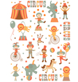 Circus in town vector | Price: 3 Credits (USD $3)