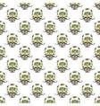 day dead seamless pattern handdrawn sugar vector image vector image