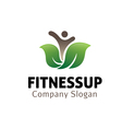 Fitness Up Design vector image