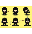 gang ninjas vector image