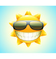 Sun cartoon vector | Price: 1 Credit (USD $1)