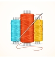 Thread Spool Set vector image