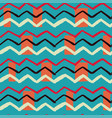 zigzag rectangle background vector image