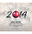 2014 New Year Colorful Background vector image