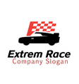 Extrem Race Design vector image vector image