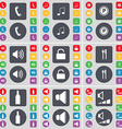 Receiver Note Parking Sound Lock Fork and knife vector image vector image