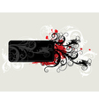 6floral line 27 2 vector image vector image