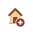 add building icon vector image