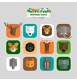 Animals Avatars vector image vector image